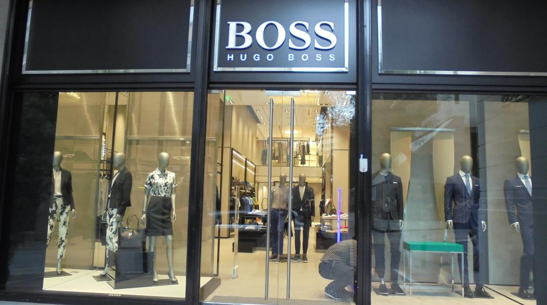 Retail, Hugo Boss