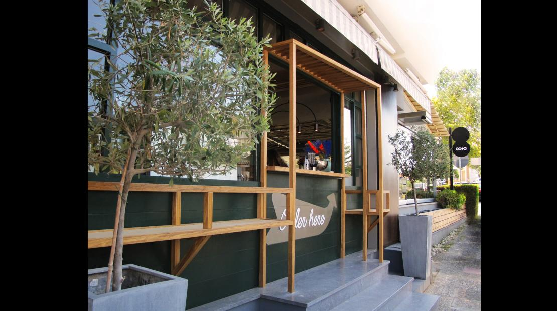 OCTO cafe bar, Kardia, Thessaloniki